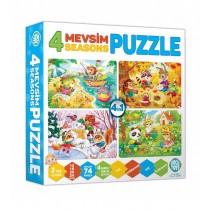 4 Mevsim Puzzle Eşleştirme Zeka Oyuncakları