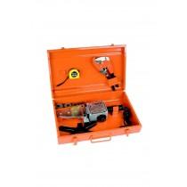 Rico Plastik Boru Kaynak Makinası Full Set Boru Makas Dahil