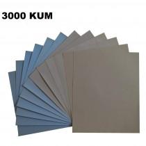 Su Zımparası 3000 Kum 1. KALİTE , 230x280 mm