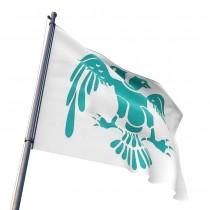 Büyük Selçuklu Devlet Bayrağı (Arması) 70x105 cm