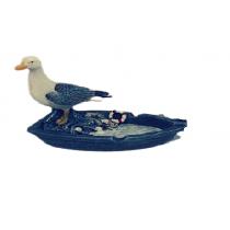 14 CM Dekoratif Kayıklı Martı Polyester Küllük